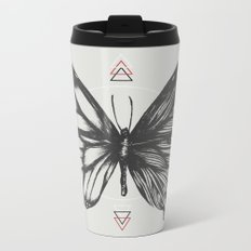 Delicate Existence Metal Travel Mug