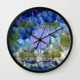 Leaves of Winter Wall Clock