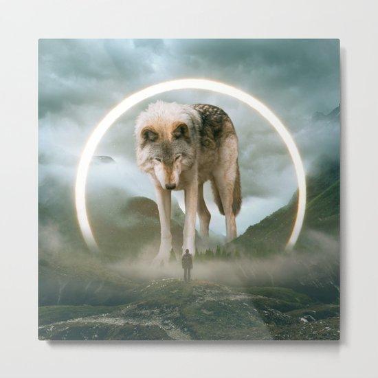 aegis | wolf Metal Print