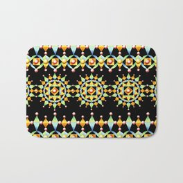 Bijoux Sunburst Stripe Bath Mat