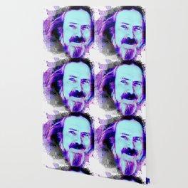 Alan Watts portrait Wallpaper