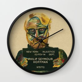 Philip Seymour Hoffman Wall Clock