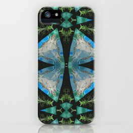 Jade Lagoons iPhone Case