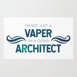 I'm not a vaper, I'm a cloud architect Rug