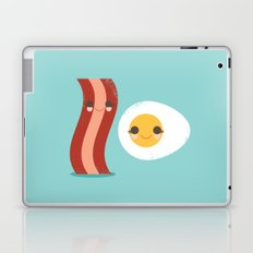 Bacon and Egg Buds Laptop & iPad Skin