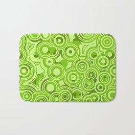 Green Fresh Sprouts Sprung Bath Mat