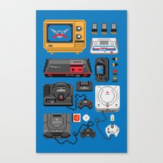 SErvice GAme History Canvas Print