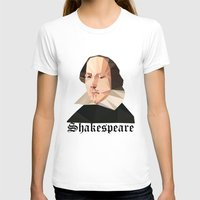 shakespeare T-shirts featuring William Shakespeare by Vi Sion