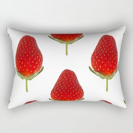 It's Strawberry Time Rectangular Pillow