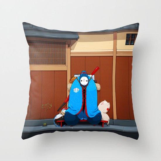 Itamae Throw Pillow