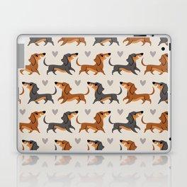 Dachshund Pups Laptop & iPad Skin