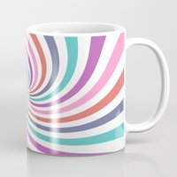 carnival Mugs featuring Carnival by The Nostalgic Whim