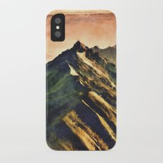 Mountains In The Clouds iPhone X Slim Case