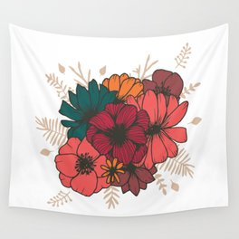 Bohemian Bouquet Wall Tapestry