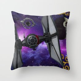 Fancy SCI-FI Throw Pillow