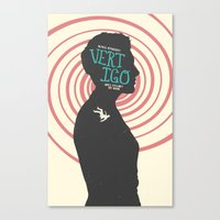 vertigo Canvas Prints featuring Vertigo by Bill Pyle