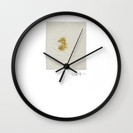 Curry stain on Sunday afternoon Wall Clock