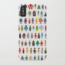 Pixel Heroes iPhone Case