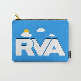 Rva Logo | ' Game Style ' Carry-All Pouch