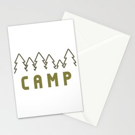 Camp Wilderness Stationery Cards