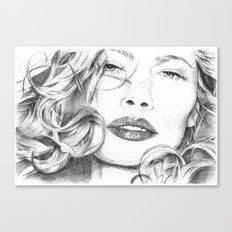 Kitty Manhattan Canvas Print