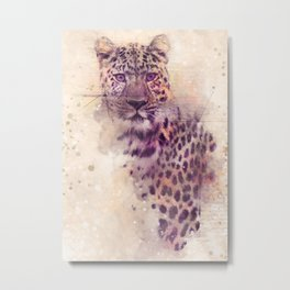 Gepard art series Metal Print