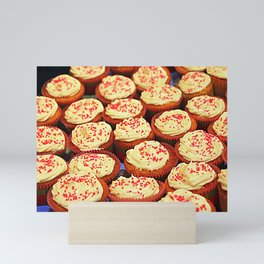 Frosted Cupcakes Mini Art Print