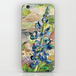 Texas Bluebonnet Collage iPhone Skin