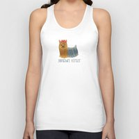yorkie Tank Tops featuring Yorkie by 52 Dogs