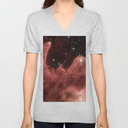 cassiopeia and the raging towers of poseidon | space #06 Unisex V-Neck