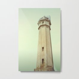 Alcatraz Lighthouse Metal Print