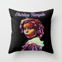 Legend Of Shirley Throw Pillow