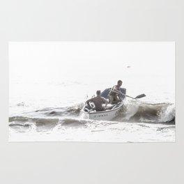 Wave riders Rug