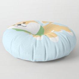 Cozy Shiba Inu Floor Pillow