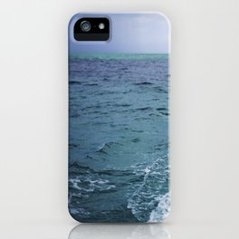 All the Colors of the Sea iPhone Case