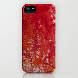 Blood is the New Black iPhone Case