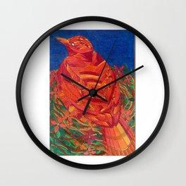 Happy and bright Bird Wall Clock