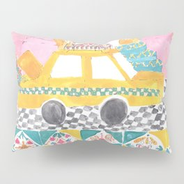 Big Yellow Taxi Pillow Sham