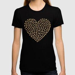 Cats Lover Heart T-shirt