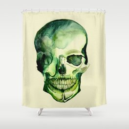 Painted Skull #1 Shower Curtain