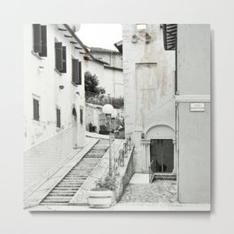 Old Italian city Metal Print