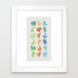 The Starters Framed Art Print