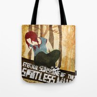 eternal sunshine Tote Bags featuring Eternal Sunshine by Lindsey Pudlewski