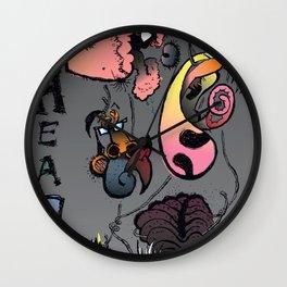 Beastheads  Wall Clock