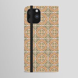 Seamless tile pattern iPhone Wallet Case