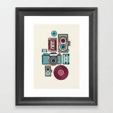 AnalogZine. Framed Art Print