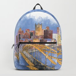 Pittsburgh Fort Pitt and Downtown Backpack