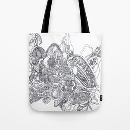 The Anatomy of Thought 1 Tote Bag