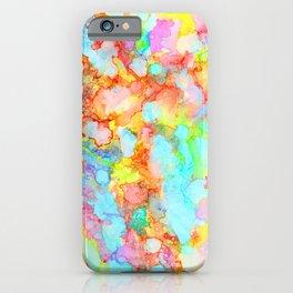 unicorn marble iPhone Case