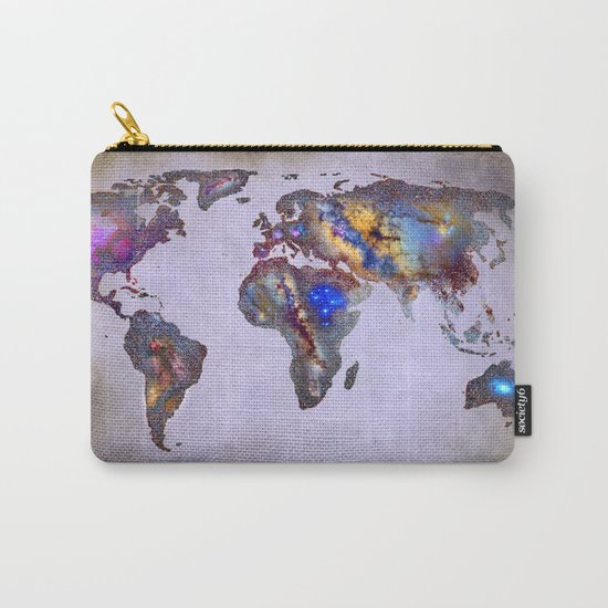 Stars world map. Space. Carry-All Pouch